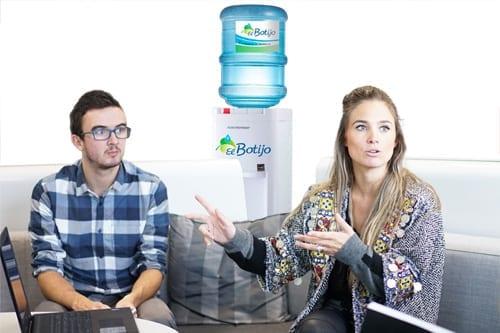 dispensador agua para empresa