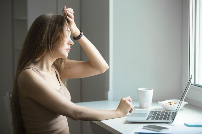 Ansiedad y estrés en el teletrabajo